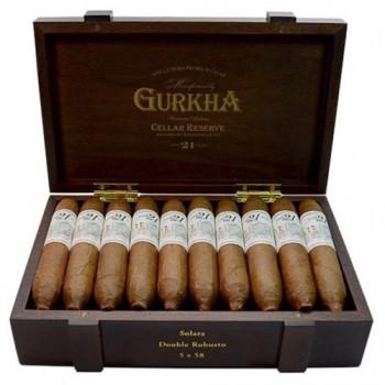 Gurkha Cellar Reserve 21y Solaro Double Robusto 20 kusů