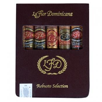 La Flor Dominicana Robusto Selection Sampler
