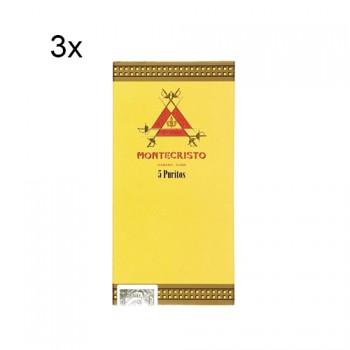 Montecristo Puritos 5 kusů - 3 balení