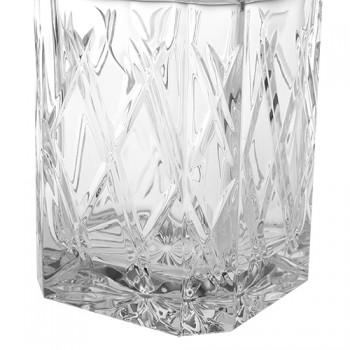 Skleněná karafa na whiskey Bohemia Crystal Nora