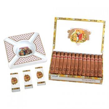 Romeo y Julieta Cedros de Luxe No.3 25 kusů + Popelník Romeo y Julieta velký + 3x Zápalky Romeo y Julieta