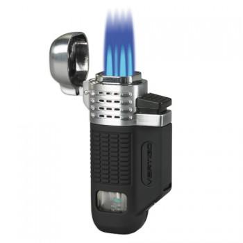 Zapalovač na doutníky Vertigo Equalizer Black Chrome